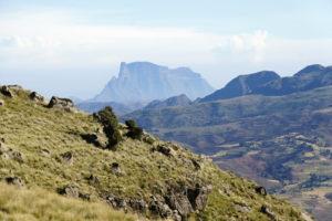 18.Panoráma Simienskych hôr pripomína americký Grand Canyon