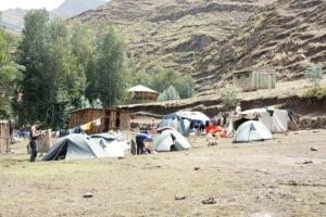 Tábor Ambikwa – miesto odkiaľ sa vyráža na vrchol Rash Dashen