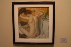 Edgar Degas: Češúca sa žena