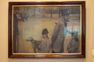 Edgar Degas: Námestie de la Concorde