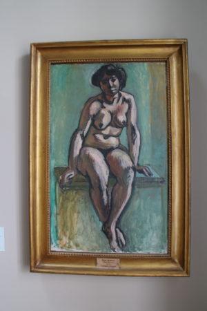 Henri Matisse: Sediaca žena