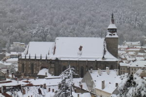 Pohľad smerom k Biserica Neagră