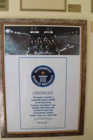Certifikát o Guinnessovom rekorde