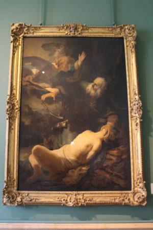 Rembrandt van Rijn: Abrahámovo obetovanie
