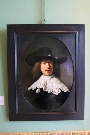 Rembrandt van Rijn: Portrét mladého muža s čipkovým golierom
