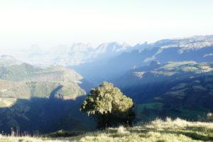 Národný park Simien mountains