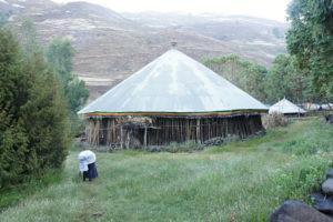 14.Jedno z domorodých obydlí v Simienskych horách
