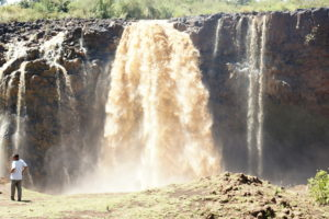 27.Tisissat – vodopády na Modrom Níle
