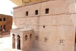 4.Jeden z kostolov komplexu v Lalibele