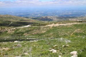 Typický ráz pohoria Serra da Estrela