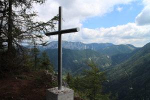 Vrcholový kríž na Speilmäueri (1 360 m. n. m.)