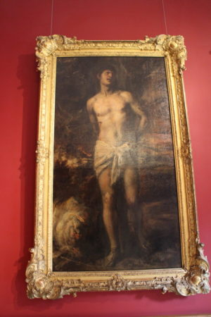 Tiziano Vecellio: Svätý Sebastián