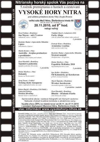 program VHN 2010_maila